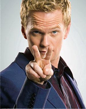 Barney is watching you