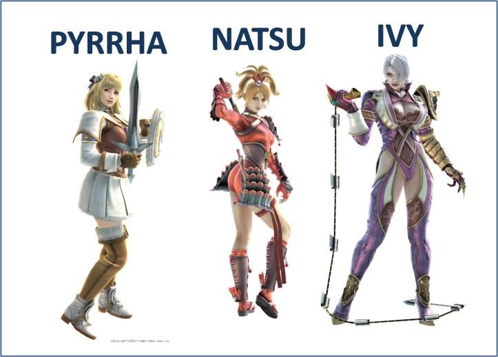 Cosplay chicas Soulcalibur V