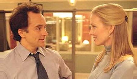 Josh y Donna manteniendo una de sus conversaciones