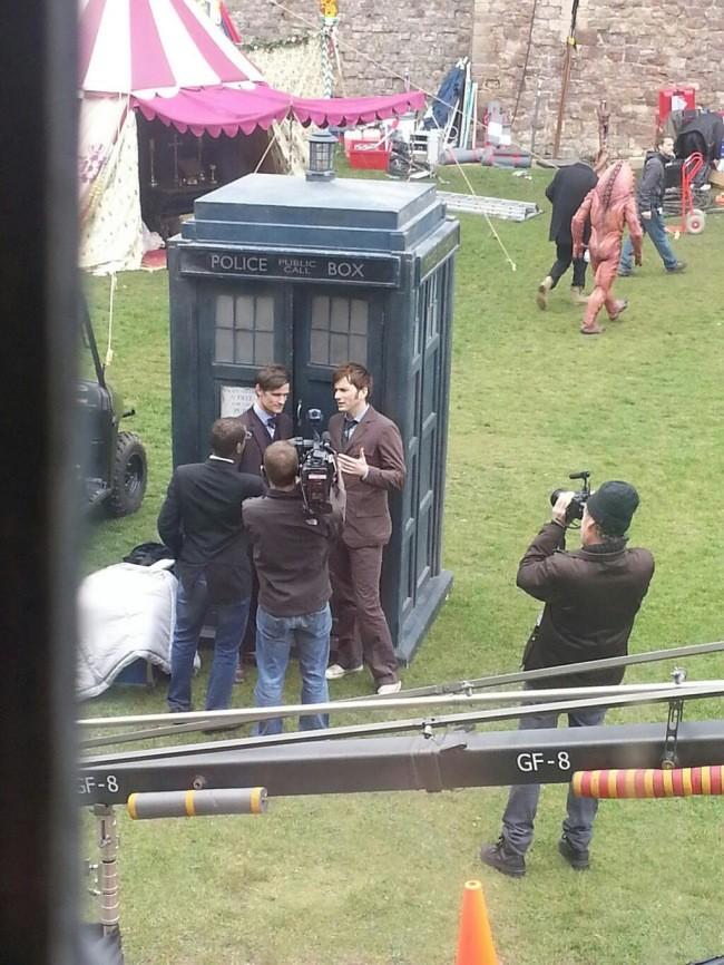 doctor-who-tennant-matt-smith-rodaje