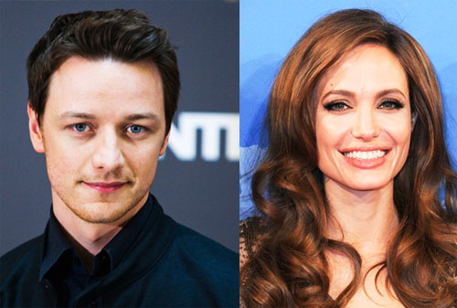 James McAvoy- Angelina Jolie