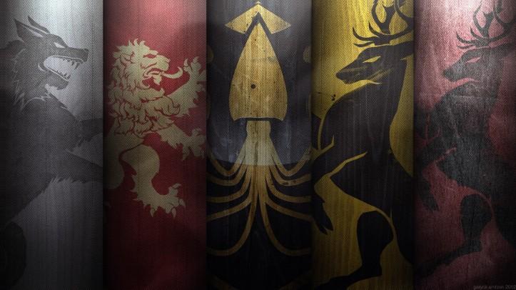 juego de tronos estandartes