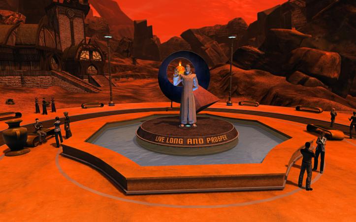 Leonard Nimoy Star Trek Online
