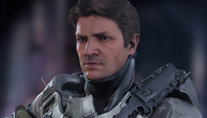 Nathan Fillion Halo