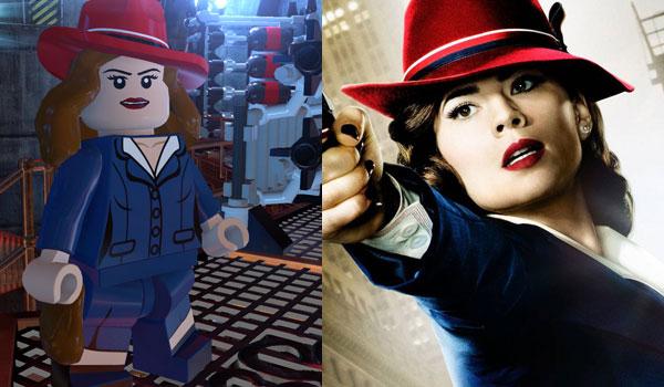 LEGO Agente Carter