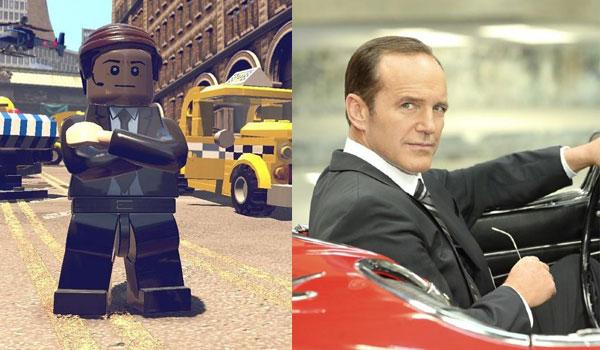 Lego Agente Coulson