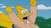 El padre de Homer es uno de esos ancianos a los que les encantan revivir las batallitas del pasado una y otra vez.