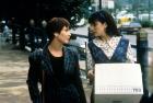 Phoebe Cates y Carrie Fisheren la comedia fantástica de 1991, 'Drop Dead Fred'.