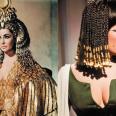 El impresionante guardarropa de Elizabeth Taylor en Cleopatra no sólo ha inspirado prendas de vestir durante décadas, también accesorios y tendencias de maquillaje. Por ejemplo la colección de otoño-invierno de Alexander McQueen para 2007. No por nada el vestuario de la actriz costaron 194800 dólares- que en al época era una barbaridad- e incluía un vestido hecho de oro de 24 kilates.