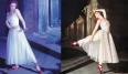 """Jacques Fathes fue el creador de este vestido de ensueño, digno de esta maravillosa historia basada en el cuento """"Las zapatillas rojas"""" de Hans Christian Andersen. Inolvidable."""