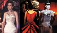 Todos y cada uno de los vestidos que crearon Catherine Martin y Angus Strathie para Moulin Rouge son una auténtica maravilla. Pero si tenemos que elegir uno nos quedamos con el impresionante rojo escarlata.