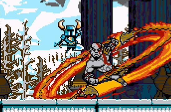 El cameo de Shovel Knight