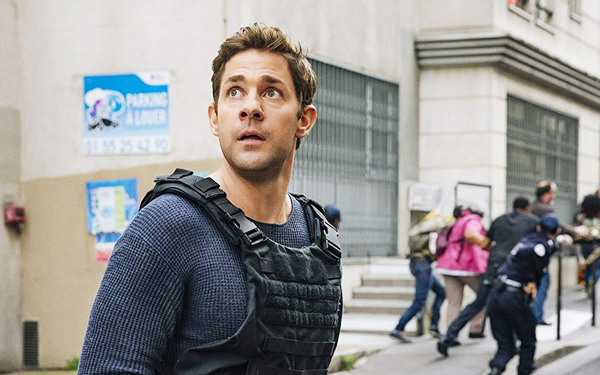 John Krasinski como Jack Ryan en la serie de Amazon Prime Video
