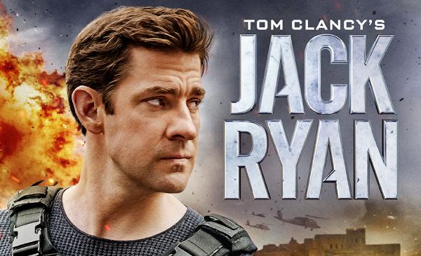 John Krasinski como Jack Ryan en la serie de Amazon