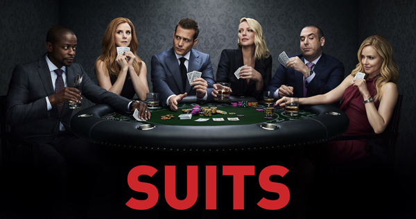 Poster de la octava temporada de Suits