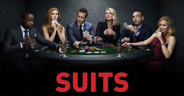Poster de la octava temporada de Suits