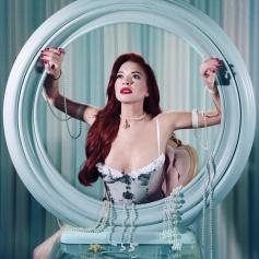 Lindsay Lohan como Ariel para Paper Magazine