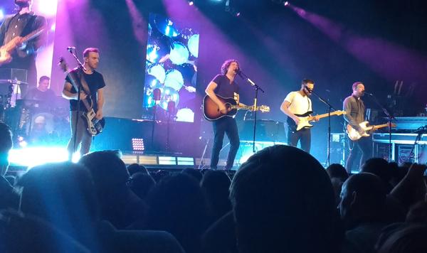 Snow Patrol en su concierto de Madrid el 14 de febrero