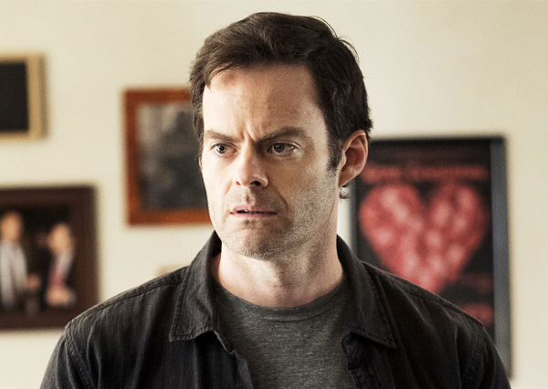 Bill Hader es Barry en la serie de HBO, Barry