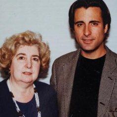 Maria Snoeys-Lagler con Andy García