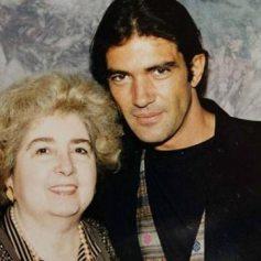 Maria Snoeys-Lagler con Antonio Banderas