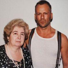 Maria Snoeys-Lagler con Bruce Willis