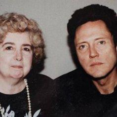 Maria Snoeys-Lagler con Christopher Walken