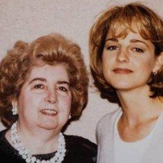 Maria Snoeys-Lagler con Helen Hunt