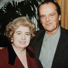 Maria Snoeys-Lagler con Jack Nicholson