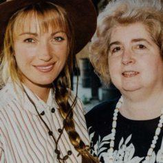 Maria Snoeys-Lagler con Jane Seymour